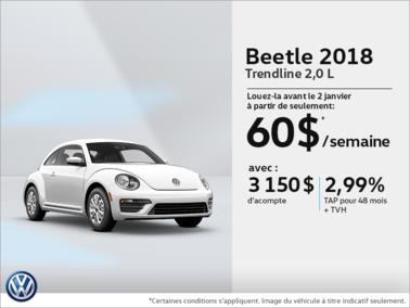 Louez la Beetle 2018!