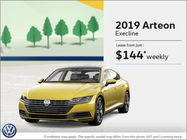 Lease the Arteon 2019!