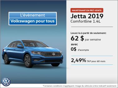 La Jetta 2019 disponible en Pre-vente!
