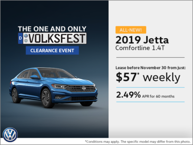 Get the all-new 2019 Jetta