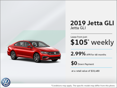 All-New 2019 Jetta GLI