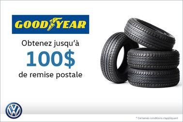 Offre sur les pneus Goodyear