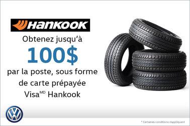Offre sur les pneus Hankook