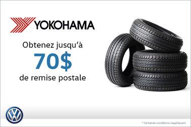 Offre sur les pneus Yokohama