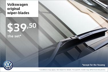 Volkswagen Original Wiper Blades for $39.50