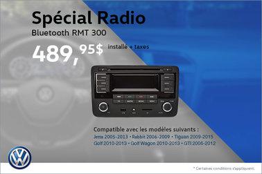 Radio Bluetooth RMT 300 en spécial