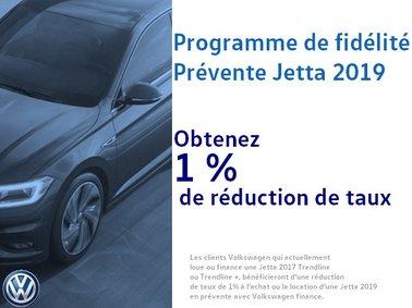 Programme de fidélité prévente Jetta 2019