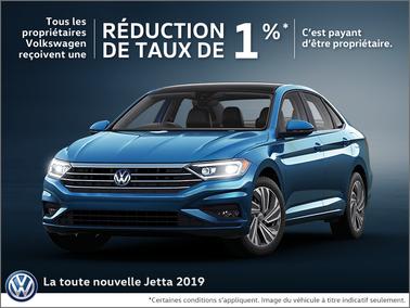 Économisez sur le Jetta 2019
