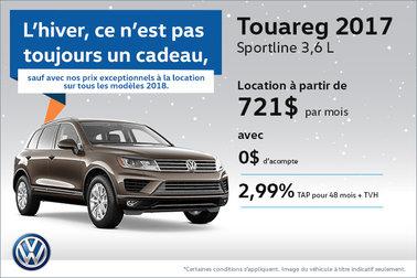 La Touareg 2017 en rabais