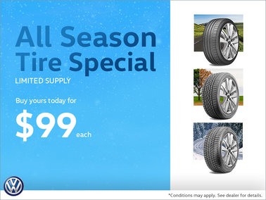 All-Season Tire Special - $99 Each
