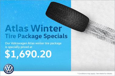 Atlas Winter Tire Package Special