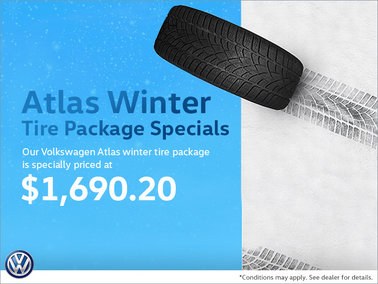 Atlas Winter Tire Package Special
