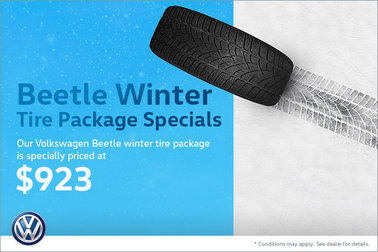 Beetle Winter Tire Package Special