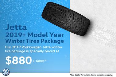 Winter Tire Special - Volkswagen 2019+ Jetta Package