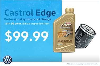 Castrol Edge Oil Change and Vehicle Inspection from $99.99