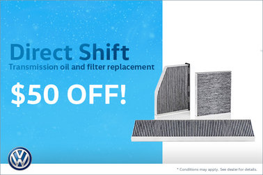 $50 Off Direct Shift Transmission Oil and Filter Replacement