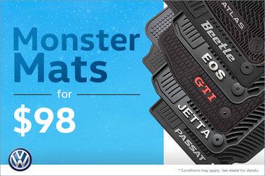 Monster Mats for $98