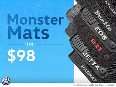 Monster Mats for $98