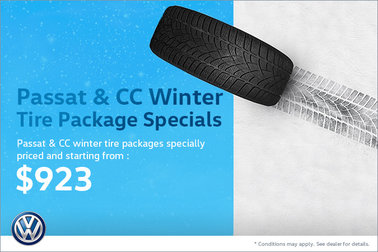 Passat & CC Winter Tire Package Specials