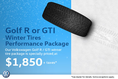 Winter Tire Special - Volkswagen Golf R/GTI Package