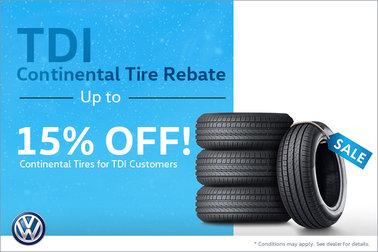 TDI Continental Tire Rebate