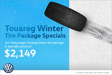 Touareg Winter Tire Package Special