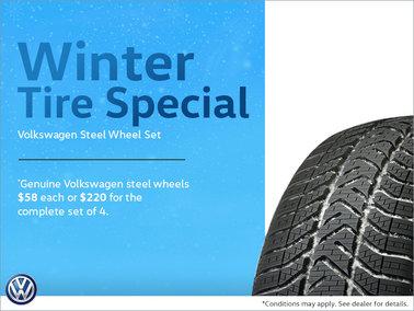 Winter Tire Special - Volkswagen Steel Wheel Set