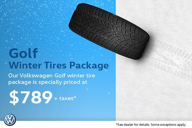 Winter Tire Special - Volkswagen Golf Package