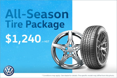 Get Our All-Season Tire Package!
