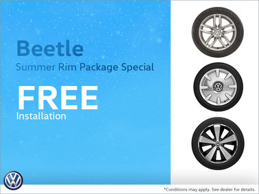 Beetle Summer Rim Package Special