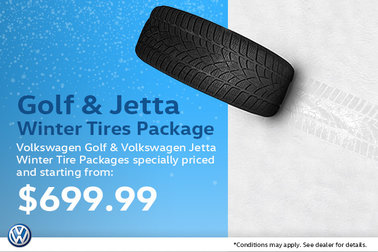 Golf & Jetta Winter Tire Packages