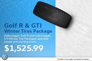 Golf R & GTI Winter Tire Package