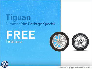 Tiguan Summer Rim Package Special