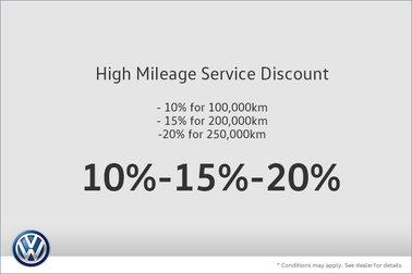 High Mileage Service Discount