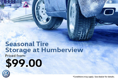 Seasonal Tire Storage from $99