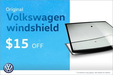 Get an Original Volkswagen Windshield! Today