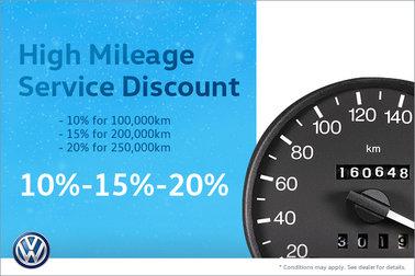 10%-15%-20% High Mileage Service Discount