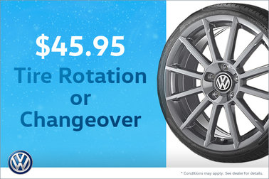 $45.95 tire rotation or changeover