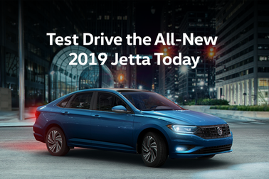 Test Drive TODAY & Pre-Order The 2019 Jetta at Humberview
