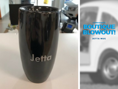 Was $14.69 NOW $10.99 - Jetta Mug