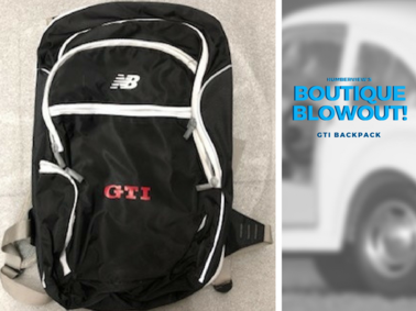Was $76.64 NOW $60.49 - GTI Backpack