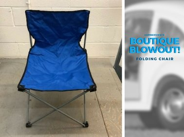 Was $27.25  NOW  $19.80 - Folding Chair