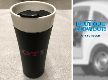 Was  $25.19  NOW  $19.79  - GTI Tumbler