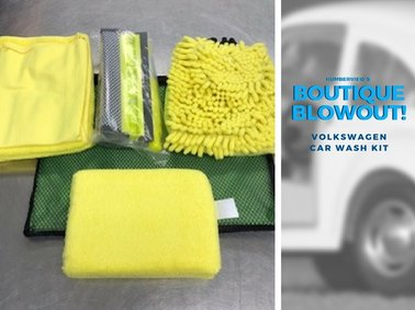 Was $41.99 NOW $30.79  - Volkswagen Car Wash Kit