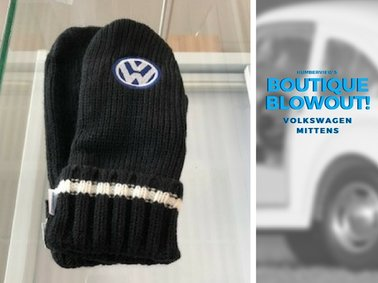 Was  $20.99  NOW  $14.29  - Volkswagen Mittens