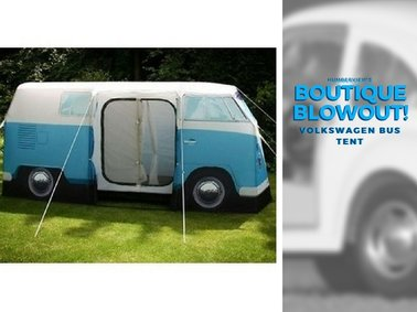Was  $498.25  NOW  $420.00  - Volkswagen Bus Tent