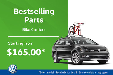 The Hottest VW Parts at MidTown! Bike Carriers