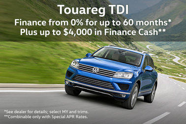 Last Chance Volkswagen Touareg TDI Offers!