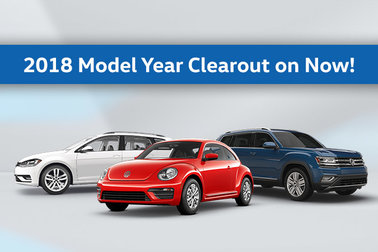 2018 Model Year Clearout!