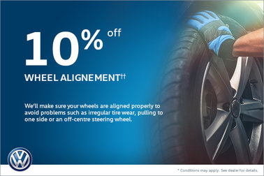 10% Off Wheel Alignment!